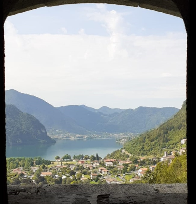 Anfo, veduta dalla Rocca