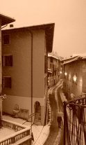 Unica nevicata a Vestone