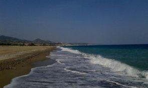 Spiaggia e mare a Cariati - Cosenza