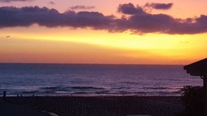 L'alba sul mar...