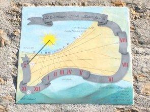 Meridiana solare a Belprato