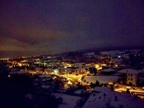 Risveglio con la neve a Muscoline