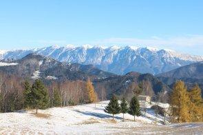 Le Cime del Monte Baldo viste dal Monte Stino