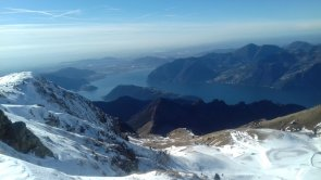 Vista dal monte Guglielmo
