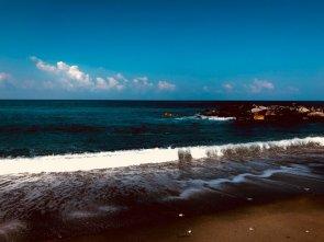 Spiaggia e mare blu di Amantea