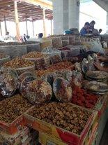 Mercato di frutta secca a Tashkent