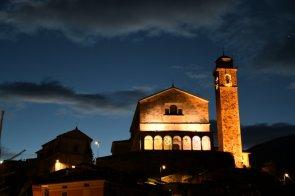Alba sulla Chiesa di Bagolino
