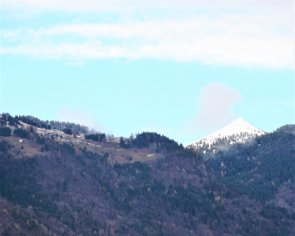 Prima neve a Faserno di Storo