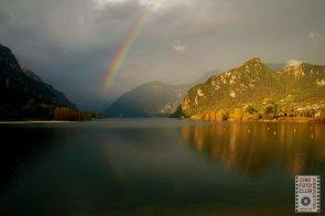 Arcobaleno sull'Eridio