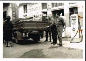 Storica pompa di benzina a Lavenone