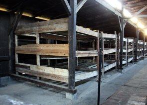 Auschwitz: dormitori
