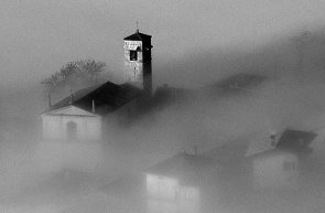 Nebbia a Belprato