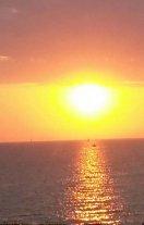 Il sole gioca a nascondino