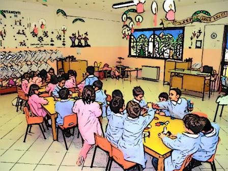 Casto open day alla scuola materna di famea for Scuola materna francese