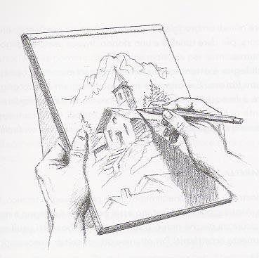 Sabbio chiese a disegnare con luca for Disegnare casa