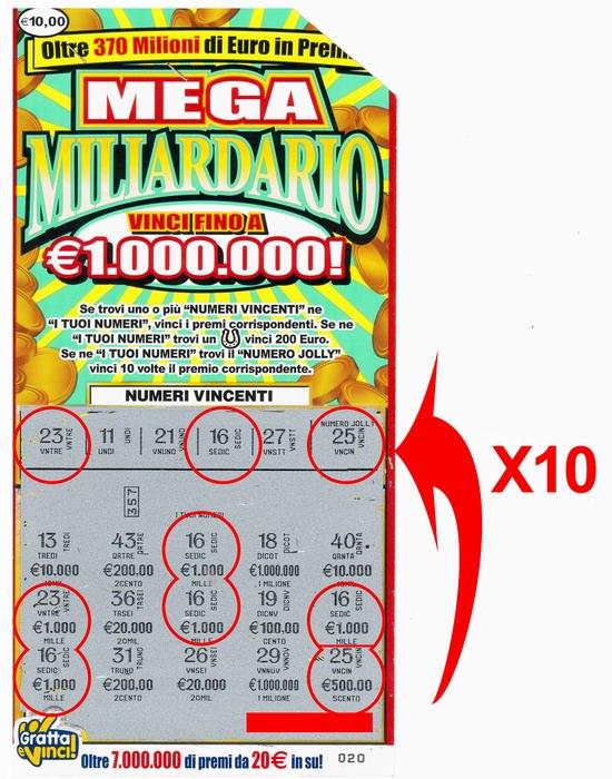 Gratta E Vinci Maxi Miliardario