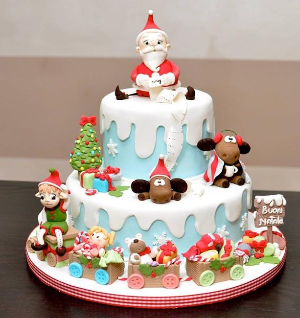 Odolo il dolce natale di naike - Torte natalizie decorate ...