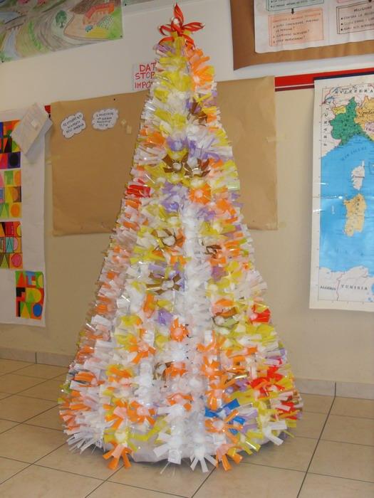 Muscoline tempo di alberi di natale - Addobbi natalizi per finestre scuola infanzia ...