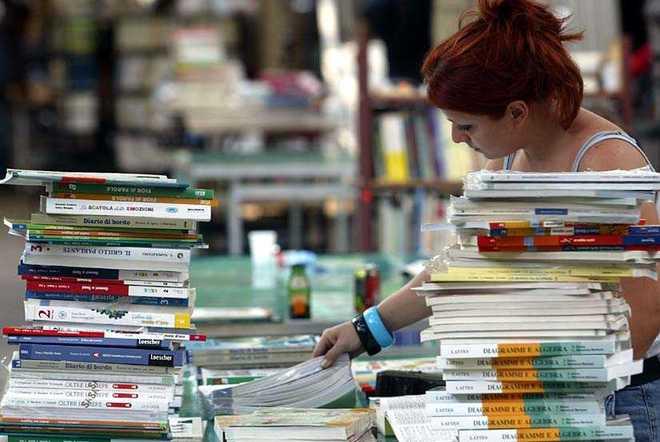 Prevalle bancarella dei libri scolastici usati for Vendita libri scolastici