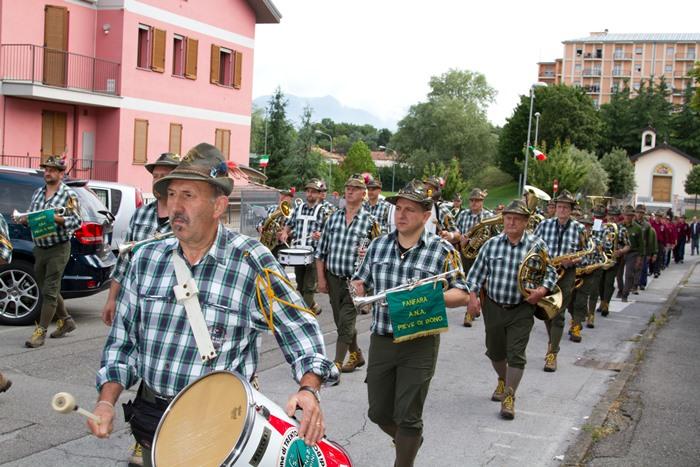 Calendario Prossime Adunate Alpini.Val Del Chiese La Fanfara Ana Alto Chiese Pronta Per Treviso