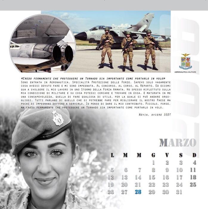 Calendario Aeronautica Militare 2020.Vobarno Nevia Nel Calendario Dell Aeronautica
