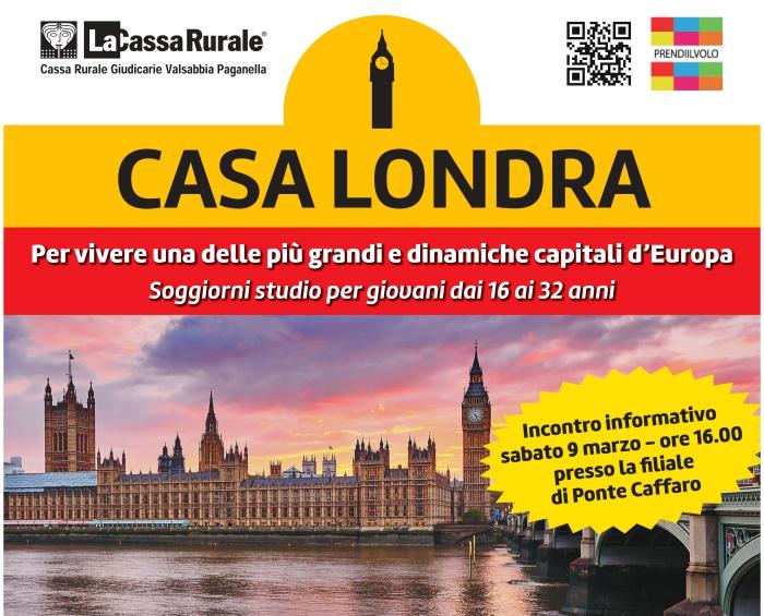 Valsabbia - Casa Londra, per imparare l\'inglese