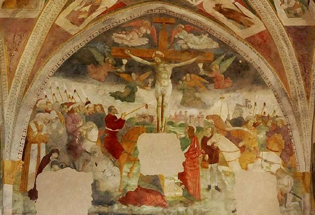 Vestone Anfo - Il restauro degli affreschi di S. Antonio - Valle Sabbia News